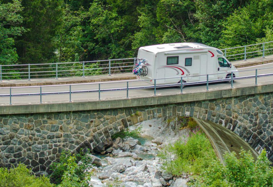 RV Camper Van Trip siena camper